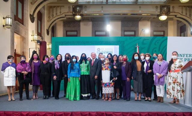 8M, día para recordar la lucha de las mujeres por la igualdad: presidente