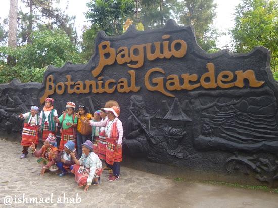 Baguio Botanical Garden with lola Igorotas