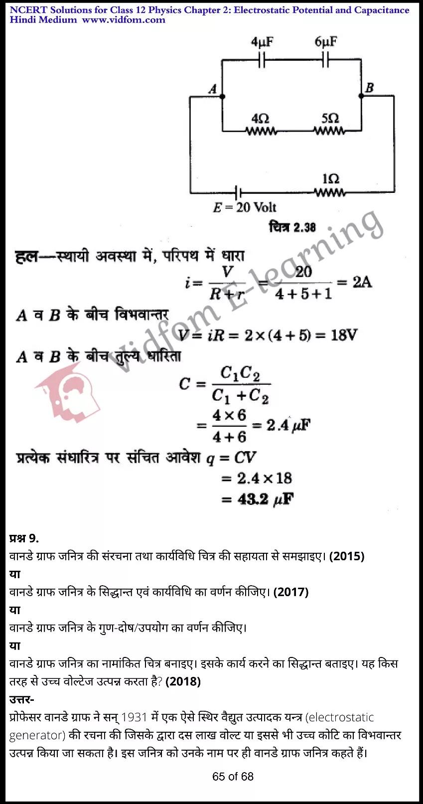 class 12 physics chapter 2 light hindi medium 65
