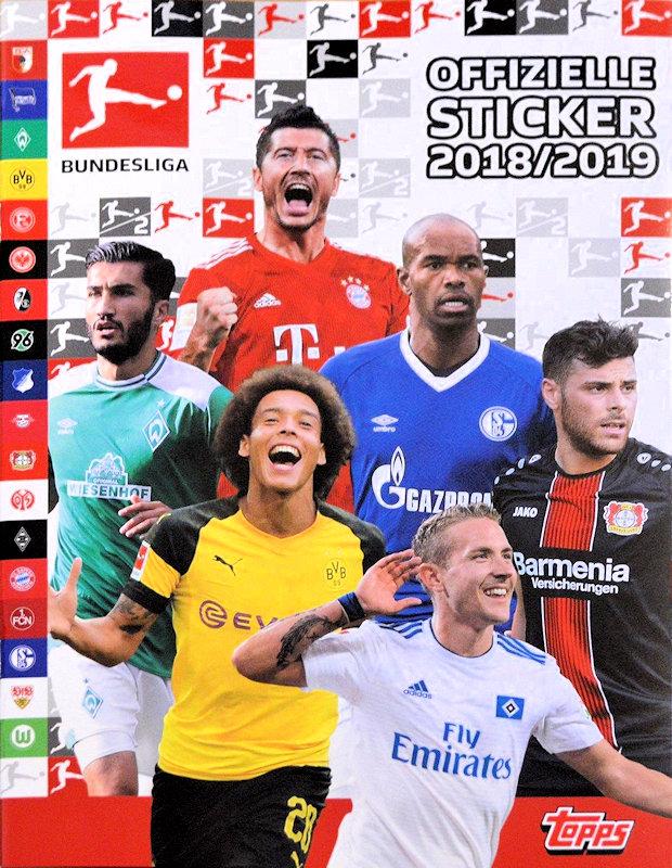 Sticker 106 TOPPS Bundesliga 2018//2019 Luca Waldschmidt
