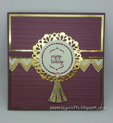 Paperjay Crafts, Eastern Palace, Fresh Fig Exotic Card