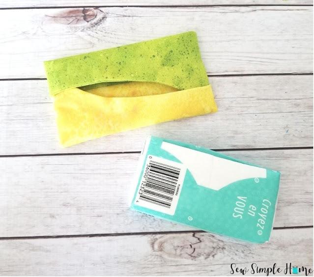 purse size tissue holder