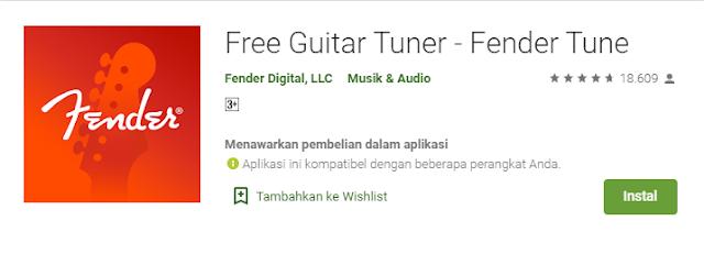 aplikasi stem gitar feder