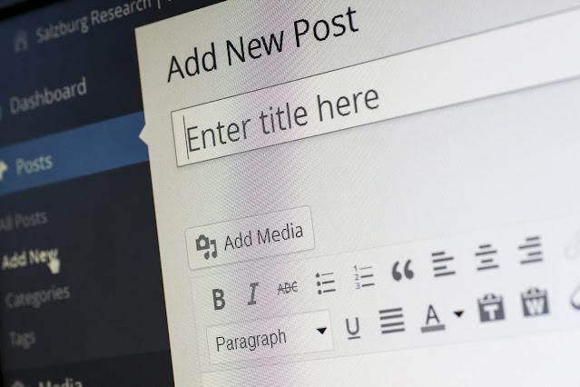 طريقة عمل مدونة