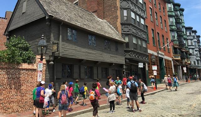 Ruas para deficientes físicos em Boston