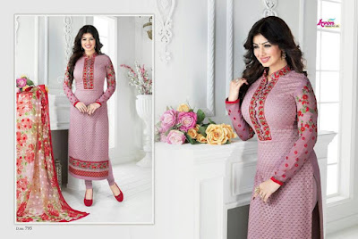 Indian-latest-embroidered-designs-chiffon-dresses-collection-2017-by-Aarohi-4