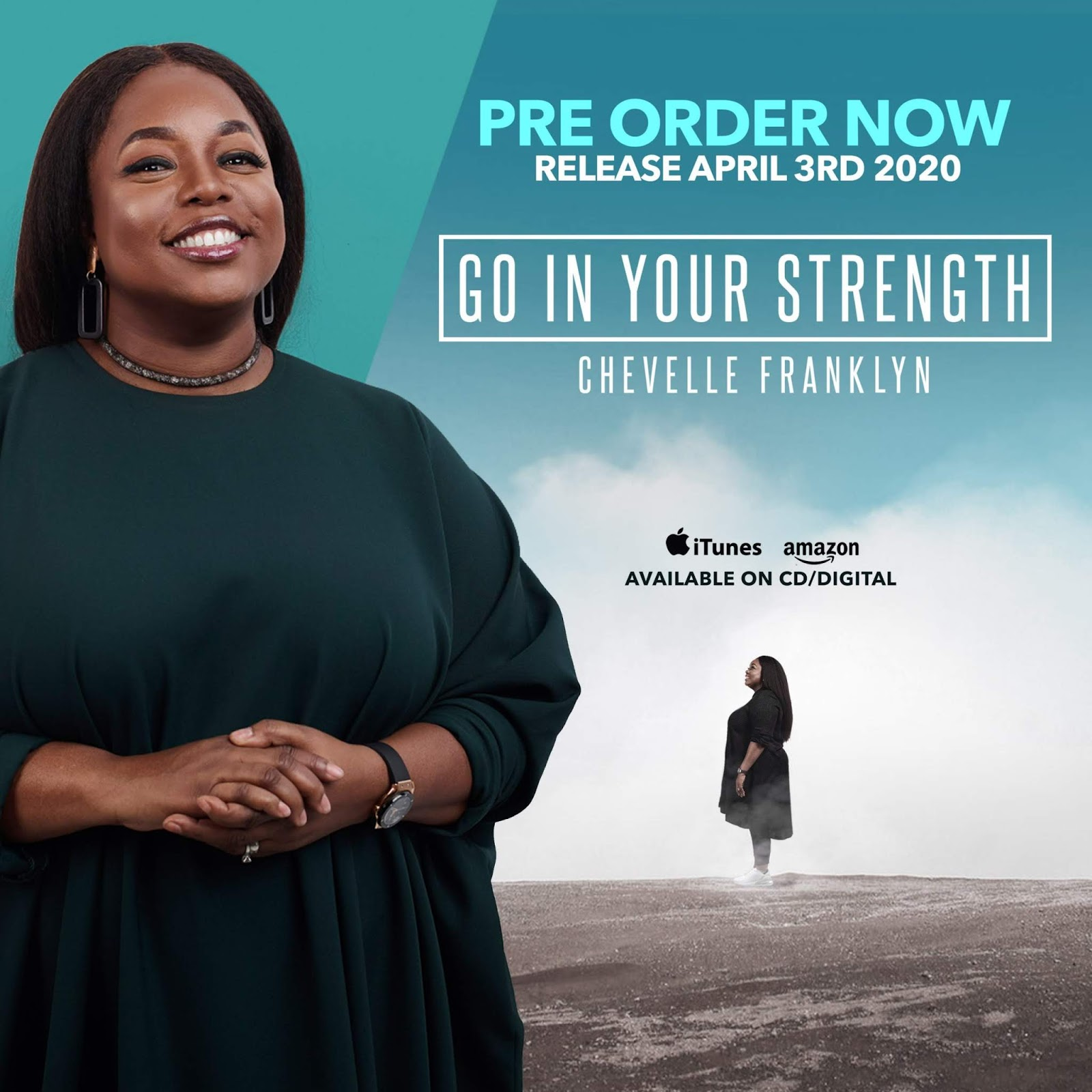 Chevelle Franklyn - Go In Your Strength Pre-Order