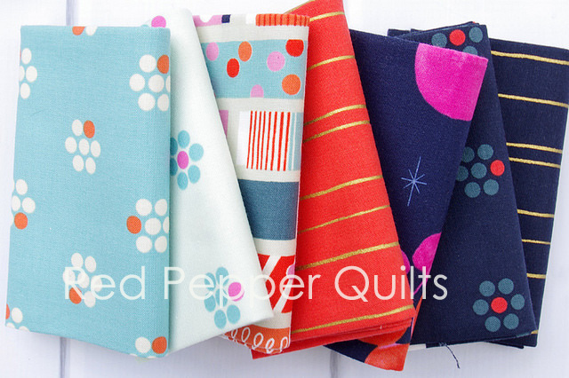 Fruit Dots by Melody Miller | Red Pepper Quilts 2016