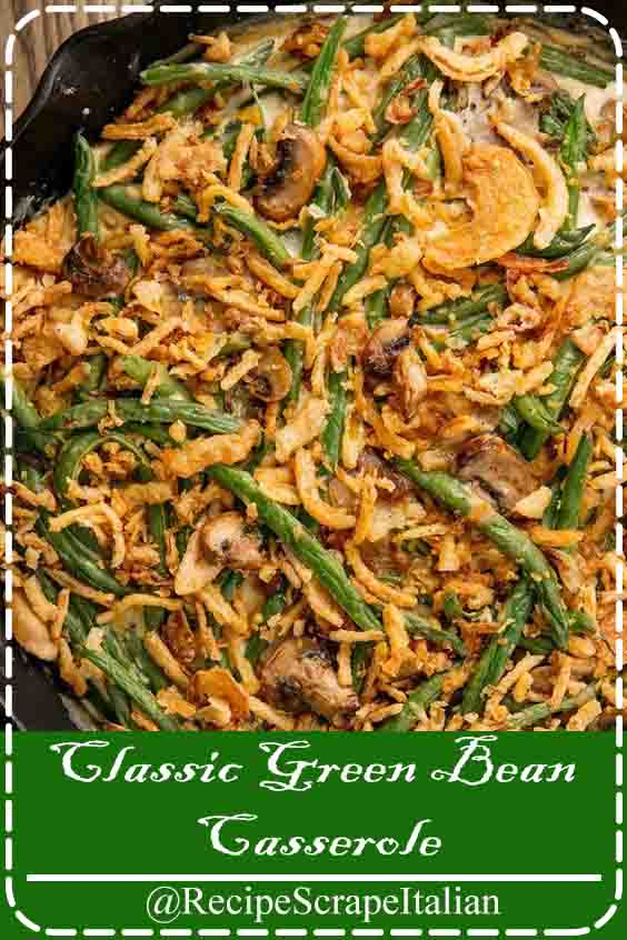 Green bean casserole is that the epitome of Thanksgiving. Bizarrely, I ne'er had it on my Thanksgiving table growing up—my oldsters ne'er created it—but I've become obsessed as Associate in Nursing adult.   Our direction does not use canned cream of mushroom soup—we like better to build a super-simple white sauce (when I say straightforward I mean flour and a bit milk) and sauté contemporary mushrooms instead. Here area unit some pointers for the most effective inexperienced casserole. #greenbean #classicrecipes #food