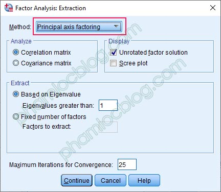 Principal Components Analysis (PCA) và Principal Axis Factoring (PAF)