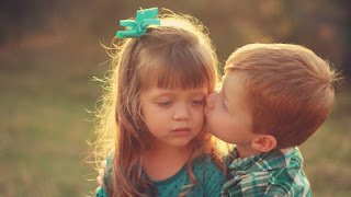 Cute Baby Love Couple Hd Images Cute Baby Couple Kissing Images Hd