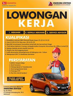 Lowongan Kerja di Kharisma Sentosa Makassar