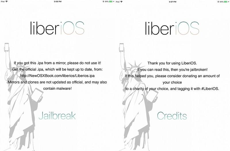 LiberiOS Jailbreak