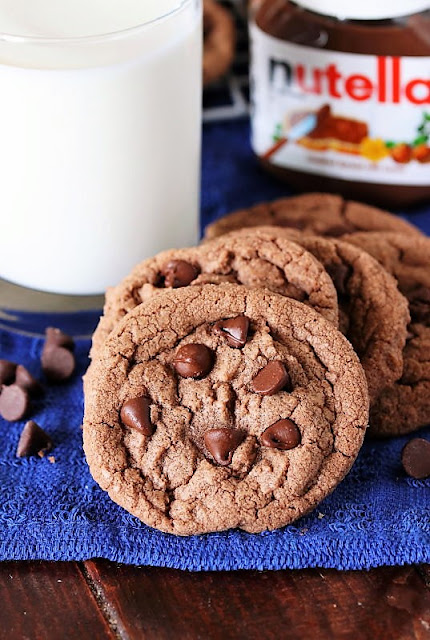Nutella Chocolate Chip Cookies Image