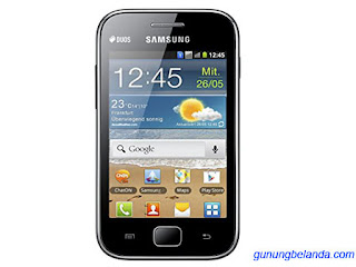 Cara Flashing Samsung Galaxy Ace Duos GT-S6802B