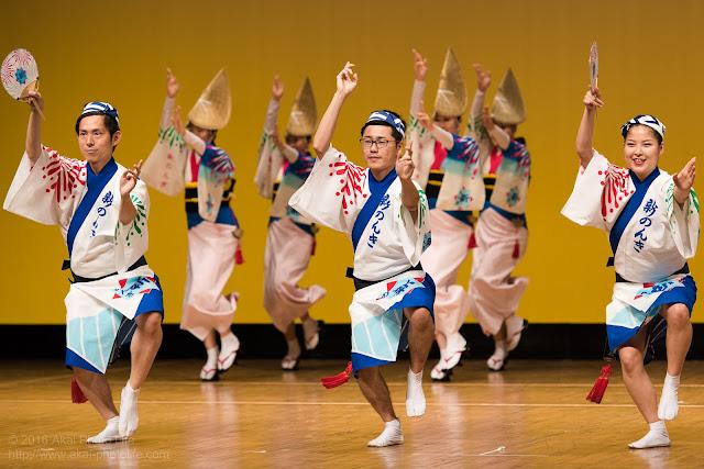 東京新のんき連、セシオン杉並まつりの男踊りの写真 1