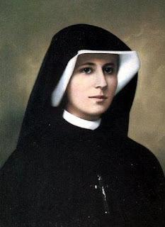 Sainte Faustine en photo d'époque