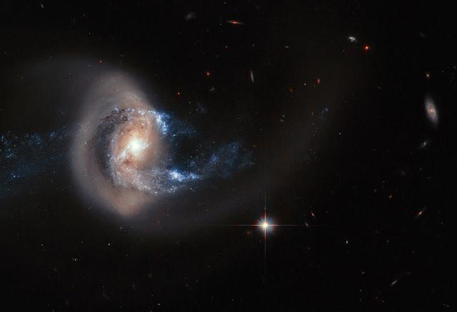 Spiral Galaxy NGC 7714