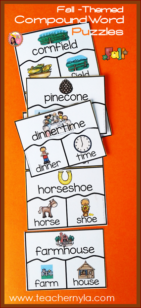 Autumn Compound Words
