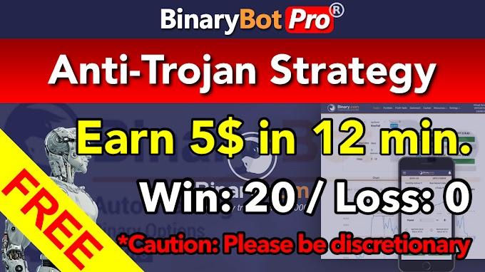 Anti-Trojan Strategy | Binary Bot | Free Download