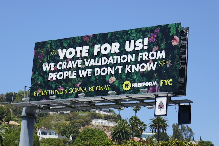 Everythings Gonna Be Okay FYC billboard