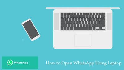 Cara Membuka WhatsApp di Laptop Melalui Web Browser