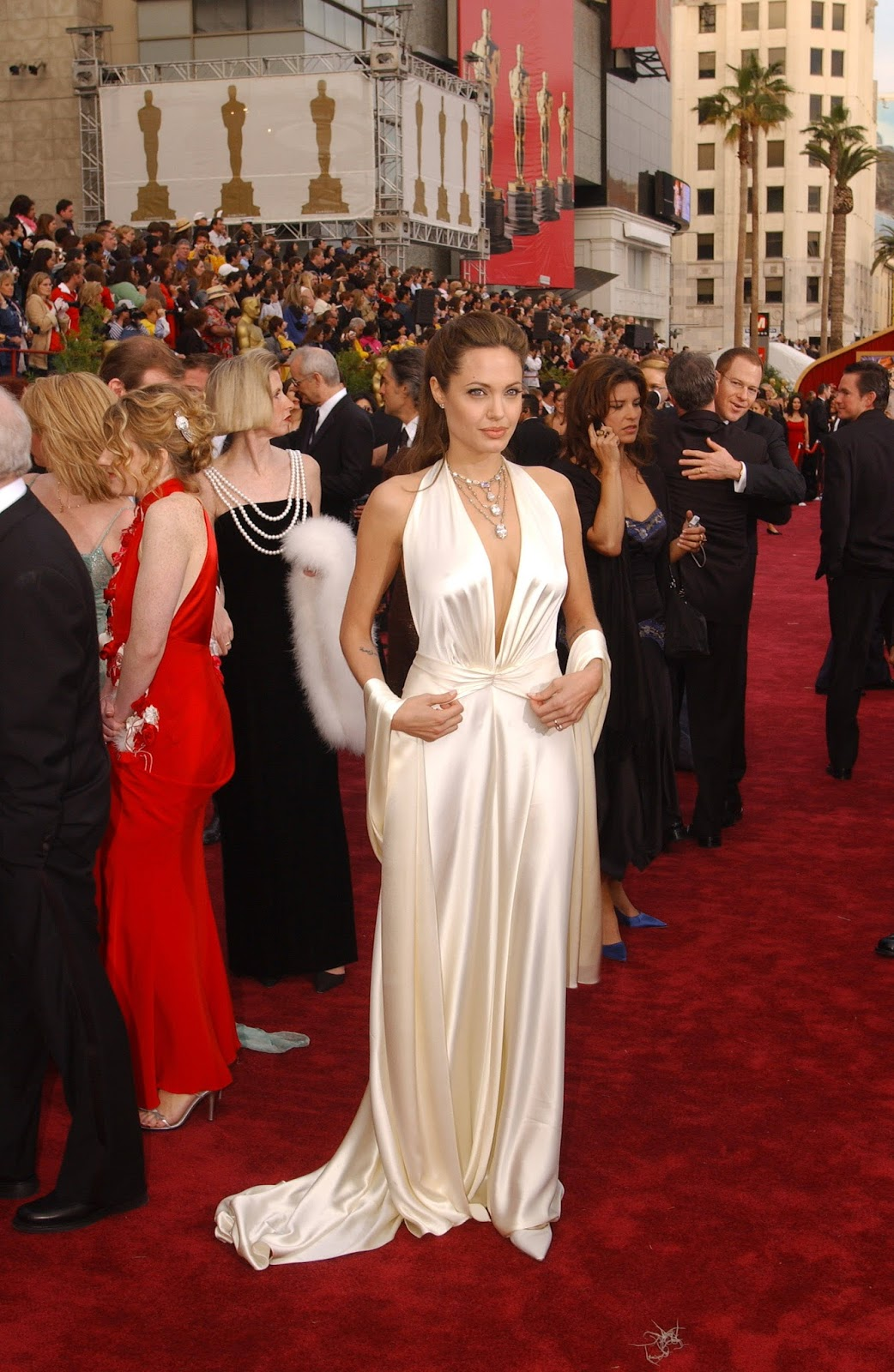 Image Gallery: Angelina Jolie Red Carpet