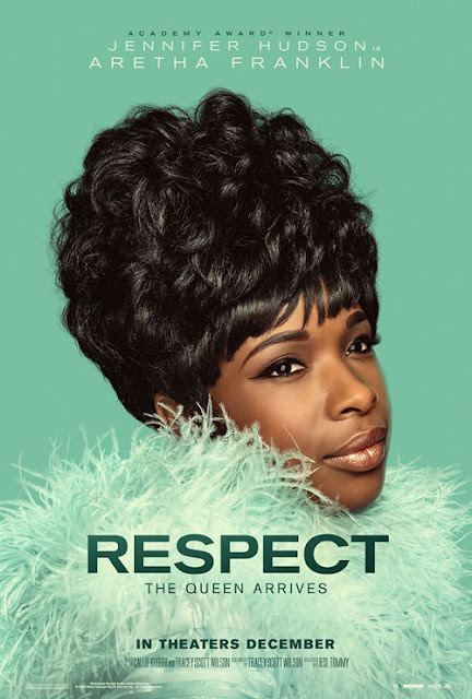 Poster oficial de 'Respect', biopic de Aretha Franklin interpretado por Jennifer Hudson