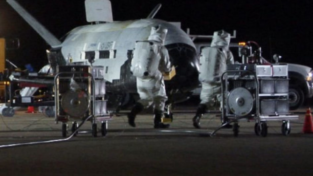 Initial checks on the X-37B Orbital Test Vehicle.