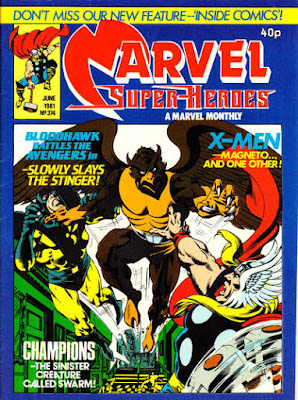 Marvel Super-Heroes #374, The Champions