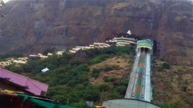 Saptashrungi Devi Temple Vani Nahik, Saptashrungi Ropeway, places to visit near Nashik