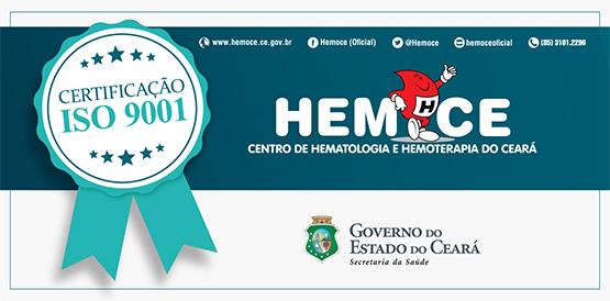 Hemoce conquista nova certificação ISO 9001