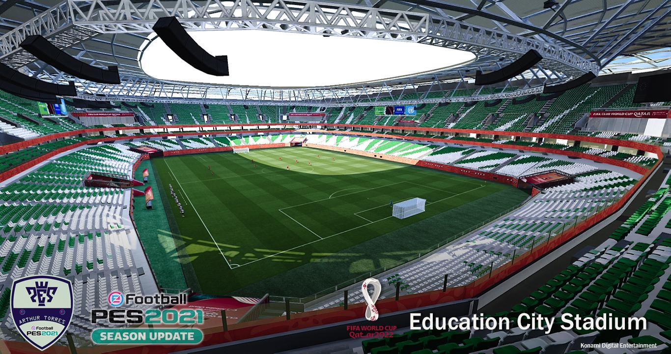 PES 2021 Education City Stadium