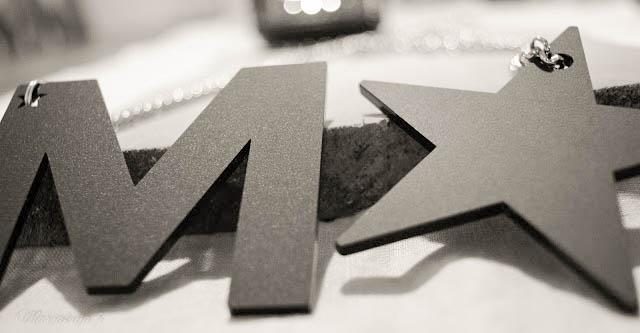 marudesign lettera star koru musta