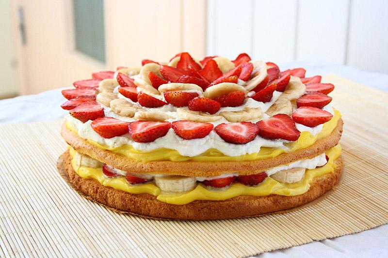 Soft And Fluffy Sponge Cake Recipe