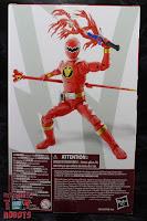 Power Rangers Lightning Collection Dino Thunder Red Ranger Box 03
