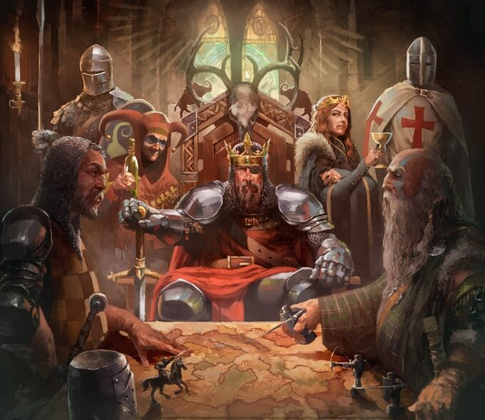 The Crusader Kings Board Game Coming In August