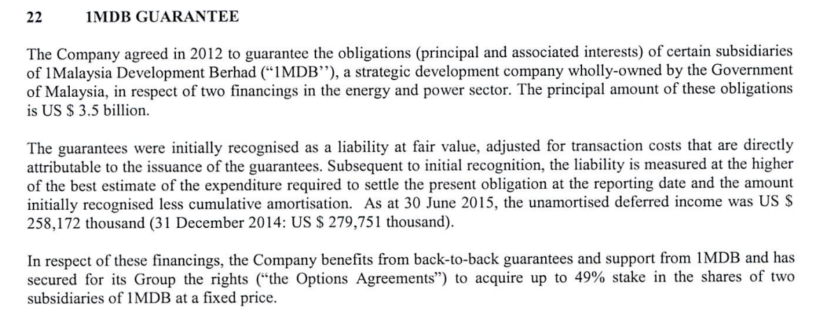 Lss march 2016 okay what the above part meant was that ipic confirmed that they guaranteed the usd35 billion bonds and that they stood to benefit from options over the solutioingenieria Gallery