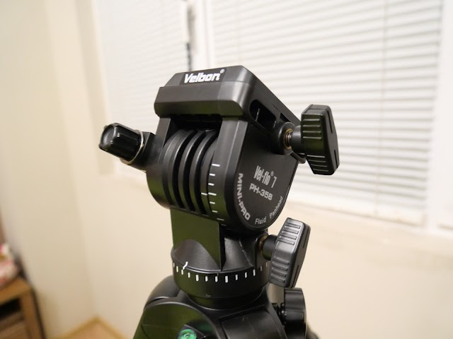 Velbon Videomate 638 video tripod with fluid head