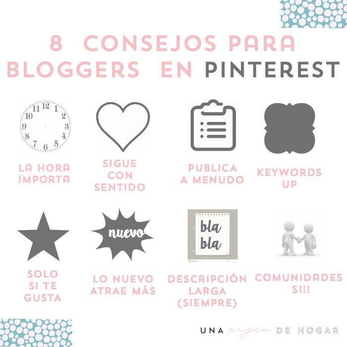 8 consejos para mejorar en pinterest si tienes un blog