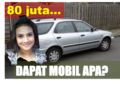 Penasaran, Mobil apa yang seharga tarif Vanessa?