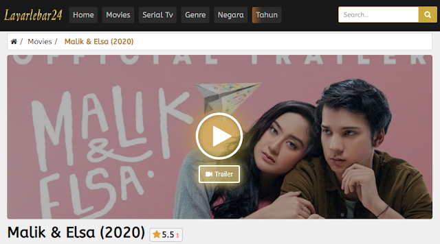 Nonton Film Malik & Elsa (2020) Lengkap Link Terbaru 2021