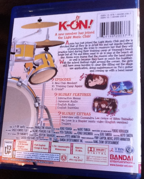 KEION!GEEK - a K-On! fan blog: K-On! Blu-Ray US vs  JP review and