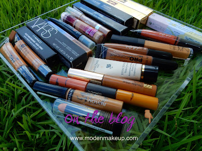 2016 Concealer Collection - www.modenmakeup.com