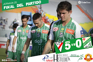 Always Ready 5 - Oriente Petrolero 0 - DaleOoo