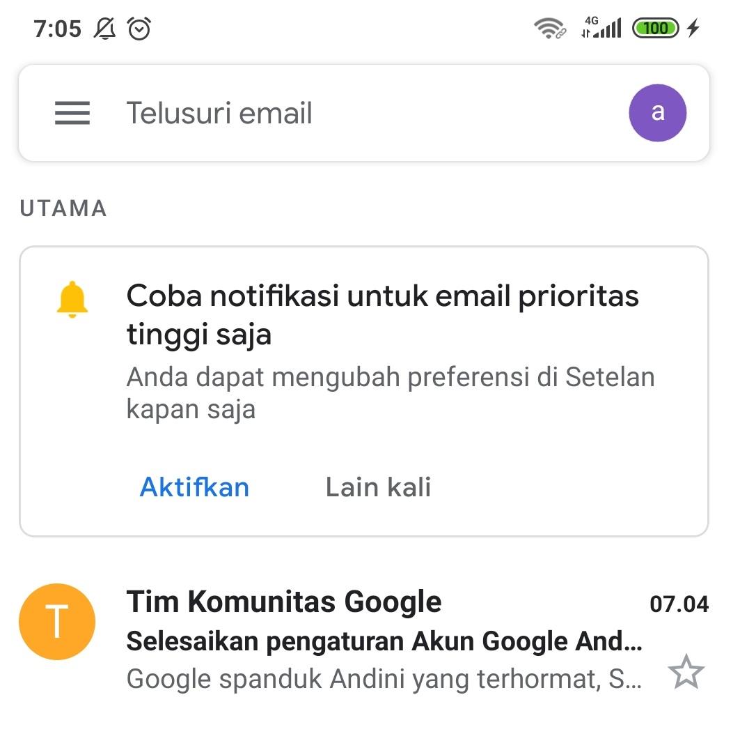 Cara Buat Email Dari Hp Langsung Jadi 2020 Cara1001