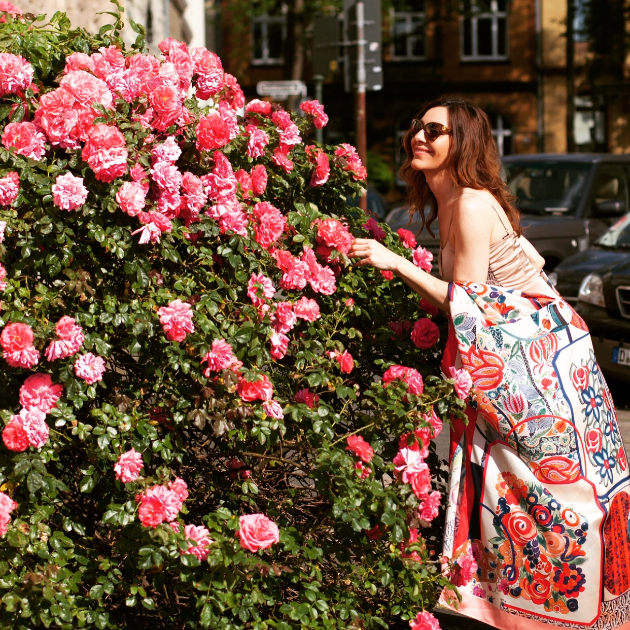 Fashion Blog Düsseldorf, today i am wearing fantasy florals