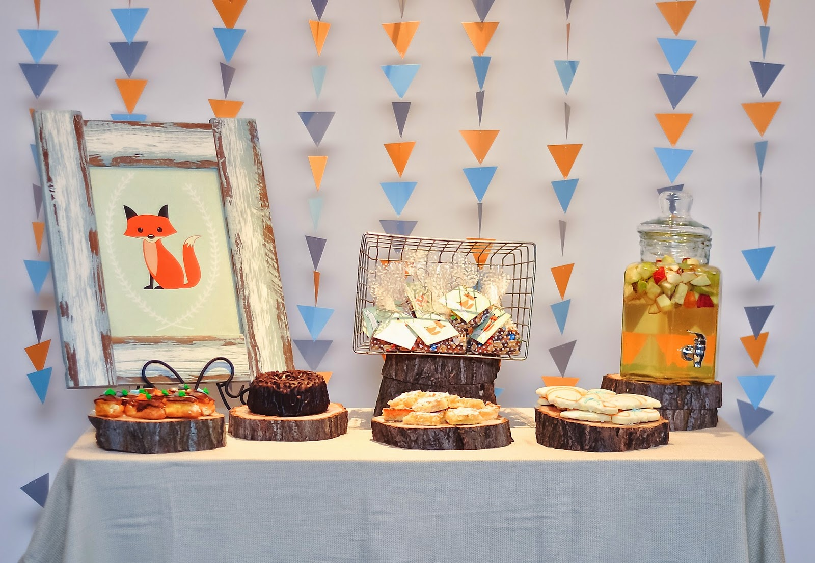 Adorn Event Styling Fox Themed Baby Shower