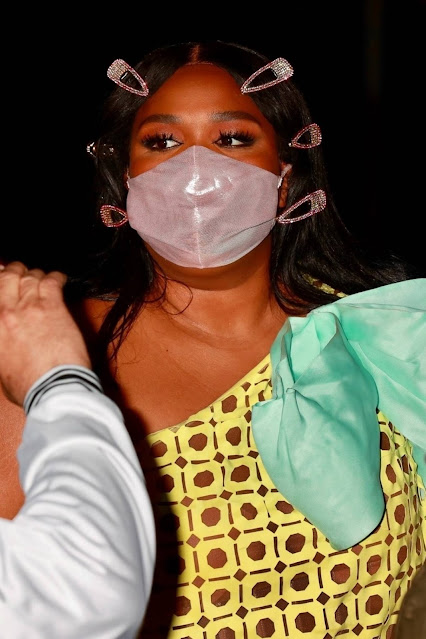 Lizzo – Out for a dinner at Craig's in West Hollywood