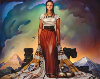 Pintura de  Jorge González Camarena.